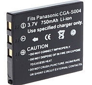 Digital Video Battery Replace Panasonic CGA-S004 for PANASONIC LUMIX DMC-FX2 and More