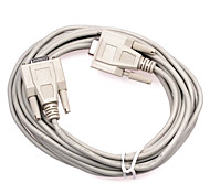 Female to Female DB 9pin Serial Port Connecting Cable (3 m)