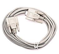 Fêmea para fêmea DB cabo de porta serial 9 pinos Conexão (3 m)