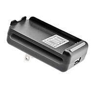 US Battery Charger with USB Output for Samsung Galaxy Note2/N7100