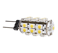 1.5W G4 LED Corn Lights T 28 SMD 3528 140 lm Warm White DC 12 V