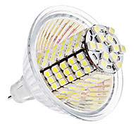 5W GU5.3(MR16) LED a pannocchia MR16 120 SMD 3528 420 lm Bianco DC 12 V