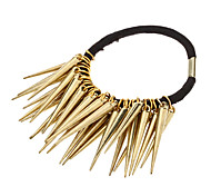 Sharp Gold Rivets Design Hair Band for Pets