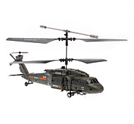 Black Hawk Fighter 3,5-kanaals Gyro Remote Control Helicopter (Model: U811, verschillende kleuren)
