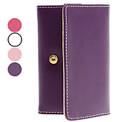 PU Leather Case avec fente pour carte pour l'iPhone 4 et iTouch
