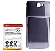 3.7v 6500mAh Replacement Lithium-ion Battery & Backup Cover for Samsung Galaxy Note II/N7100
