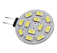 G4 6 W 12 SMD 5730 570 LM Natural White Spot Lights DC 12 V