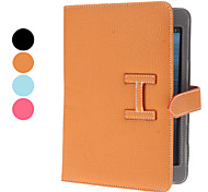 Lichee Pattern PU Leather Case w/ Stand for iPad mini 3, iPad mini 2, iPad mini