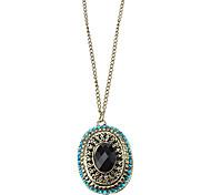 Z&X®  Restro Popular Moonlight Treasure Ruby Necklace Chain