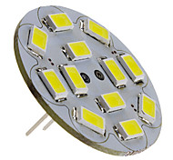 6W G4 Focos LED 12 SMD 5730 570 lm Blanco Natural DC 12 V