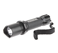 Lights LED Flashlights/Torch / Handheld Flashlights/Torch LED 200 Lumens 1 Mode AAA Waterproof Everyday Use Aluminum alloy