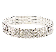 Sparkling Triplex row Diamond Bracelet
