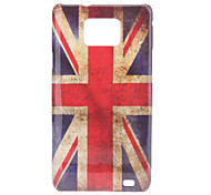 Retro Style UK National Flag Pattern Hard Case für Samsung Galaxy S2 I9100