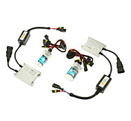 12V 35W H7 HID Xenon Lamp Conversion Kit Set (Slim Ballast)