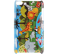 Animals Pattern Hard Case for iPod Touch 4