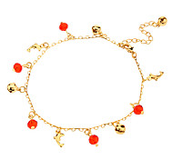 Dolphin Crystal Metal Anklet(Various)