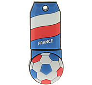Francia-en forma de bola de plástico USB Stick 32g