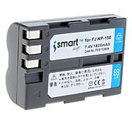 1800mAh batería de la cámara FNP-150 para Fujifilm FinePix S5 Pro