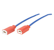 Universale porcellana H1 luce della testa di riparazione connettore Spina per Cars (2 pezzi)