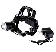 LED Flashlights / Headlamps LED 3 Mode 1000 Lumens Adjustable Focus / Rechargeable / Tactical / Self-Defense Cree XM-L T6 18650
