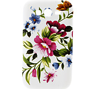 Big Flower Pattern Hard Case für Samsung Galaxy I9082 Große Duos