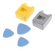 Kaisi 1301 Magnetizer Demagnetizer Repair Tool for iPhone 3 / 4 / 4S / 5 - Yellow + Grey