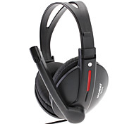 OVLENG Fashion Headphone With Good Sound Perfoemance And Rotary Microphone(Black)S444