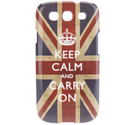 UK National Flag Pattern Hard Case for Samsung Galaxy S3 I9300