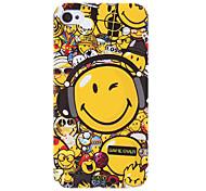 Visage souriant Motif Housse de protection rigide pour iPhone 4/4S