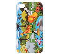 Monde modèle animal Housse de protection rigide pour iPhone 4/4S