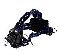 Focus Adjustable Zoom 3-Mode Cree XM-L T6 LED Headlamp (1000LM, 2x18650)