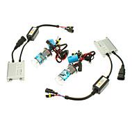 12V 35W 9004/9007-2 HID Xenon Lamp Conversion Kit Set (Slim Ballast)