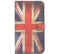 English Flag Pattern Leather Samsung Mobile Phone Cases for Galaxy Note 2/7100