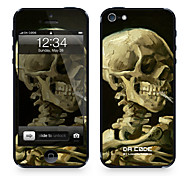 """Da Code ™ кожи для iPhone 4/4S: """"Голова скелет"""" Винсента Ван Гога (Шедевры серия)"""