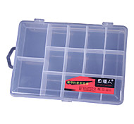 Trasparente Lure Box Tackle Box (19 * 13.5 * 3,5 centimetri)