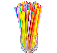 Colorful Drinking Straws (100-Pack)
