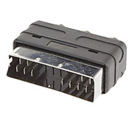 Scart to 3RCA F/F Adapter