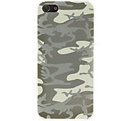 Für iPhone 5 Hülle Muster Hülle Rückseitenabdeckung Hülle Tarnfarben Hart PCiPhone 7 plus / iPhone 7 / iPhone 6s Plus/6 Plus / iPhone