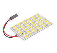 T10/BA9S/Festoon 8W 36x5730SMD Warm White Light LED Bulb for Car Reading Lamp (12V)