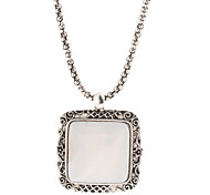 White Pendant Necklaces Daily Jewelry