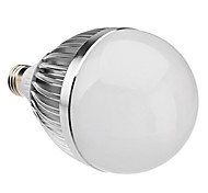 E27 15W 1450LM 6000-6500K Natural White Light LED Ball Bulb (85-265V)