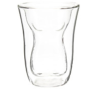 Slim Body Shaped Double-Walled Beer Glass