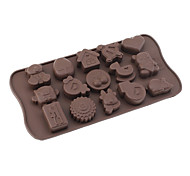 Baby Toys Theme Silicone Chocolate Mould