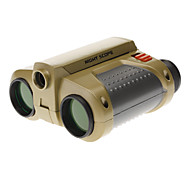 4X30mm Night Scope Focus Adjusted Binoculars with Pop-Up Spotlight and Nick Strap