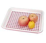 Double Layer Drainer Fruit Tray Holder (Assorted Colors)