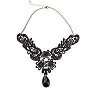 Phoenix Lace Drop Necklace