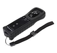 2-en-1 MotionPlus mando a distancia para Wii (Negro)