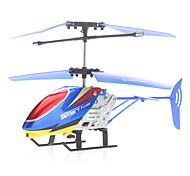 2-Channel Remote Control Helicopter with Iphone4 Style Remote (4 Button Be included)