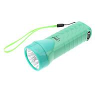 Omeika OMK-3233 linterna recargable 2-Mode 4-LED con luz ultravioleta (colores surtidos)