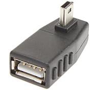 90 gradi a sinistra per 5P USB / A Adattatore M / F